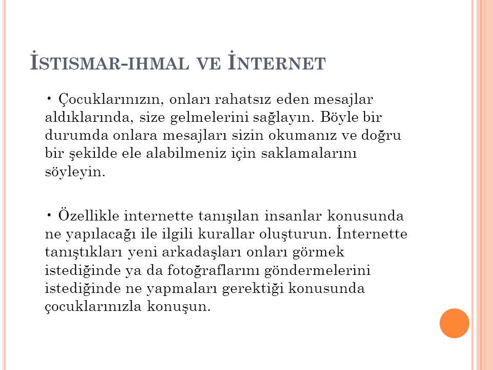 İstismar-ihmal ve İnternet