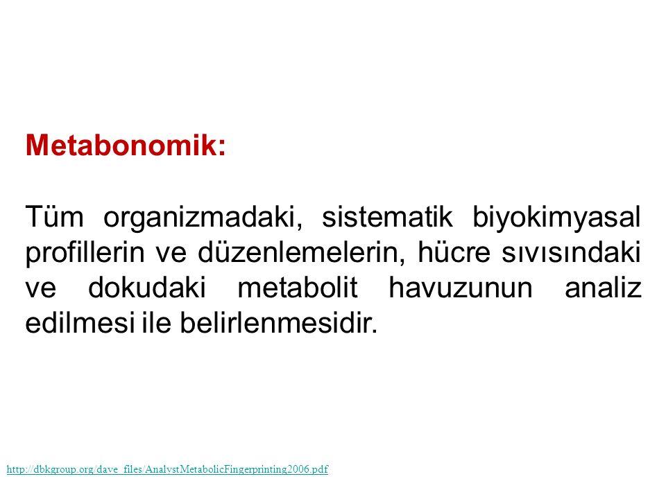 Metabonomik: