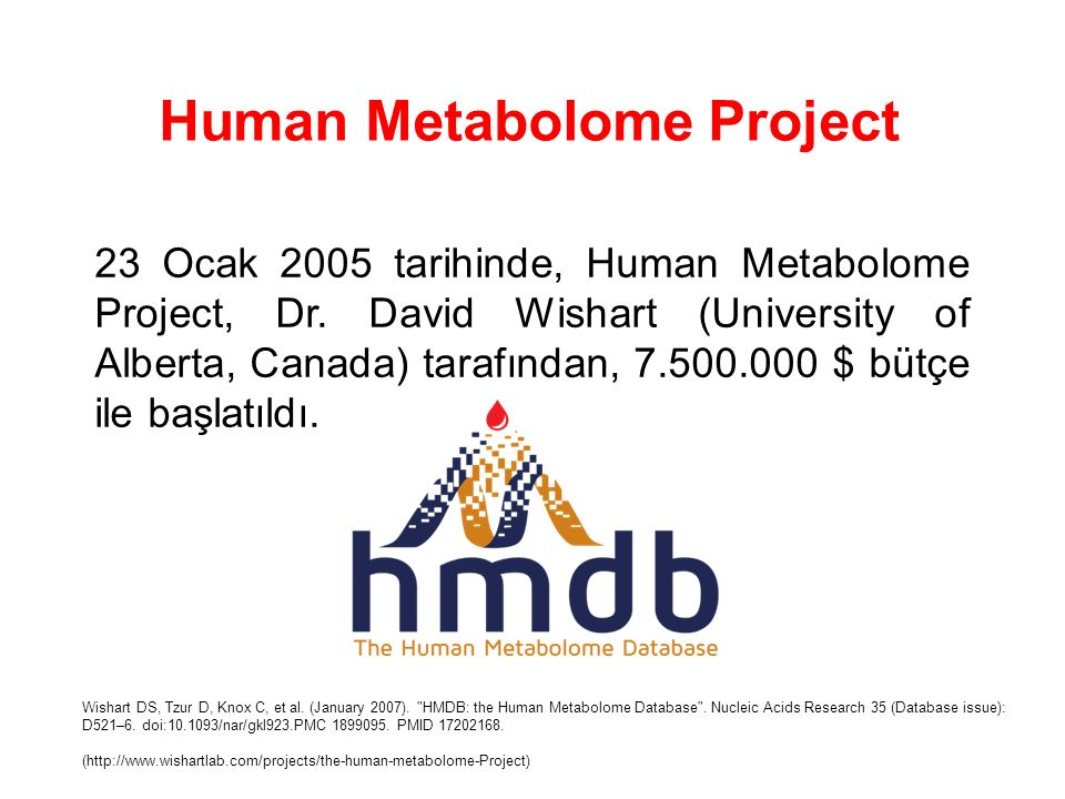 Human Metabolome Project