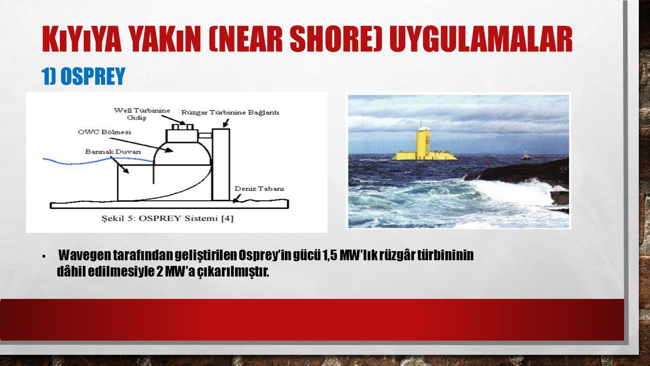 Kıyıya Yakın (Near Shore) Uygulamalar