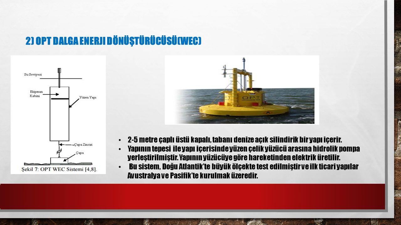 2) OPT Dalga Enerji Dönüştürücüsü(WEC)