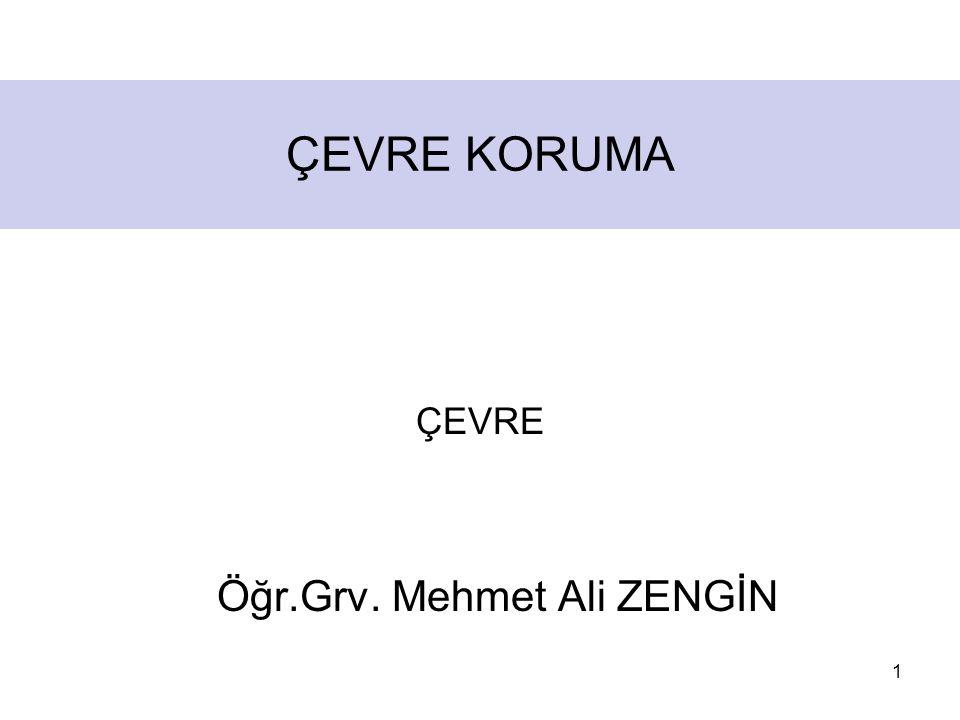 Öğr.Grv. Mehmet Ali ZENGİN