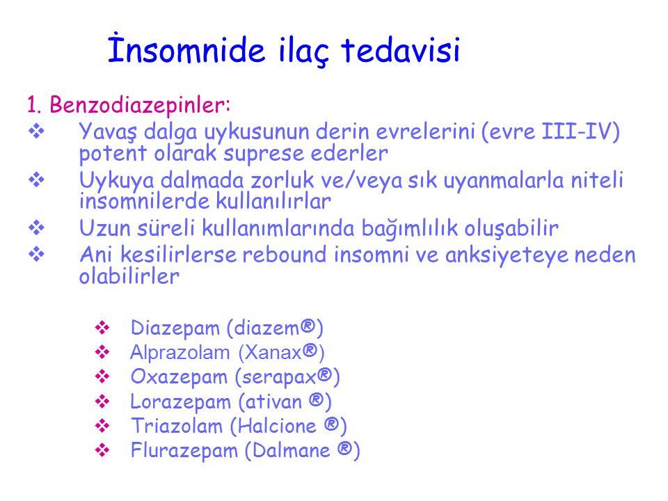 Uyku evrelerinin dağılımı