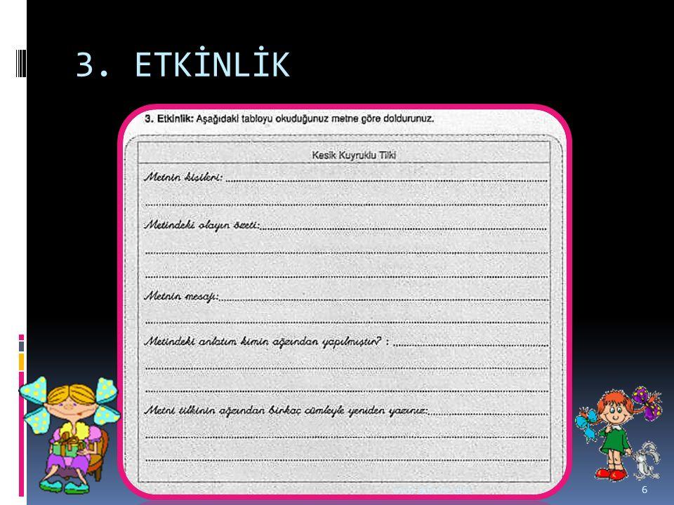 3. ETKİNLİK www.dilimce.com