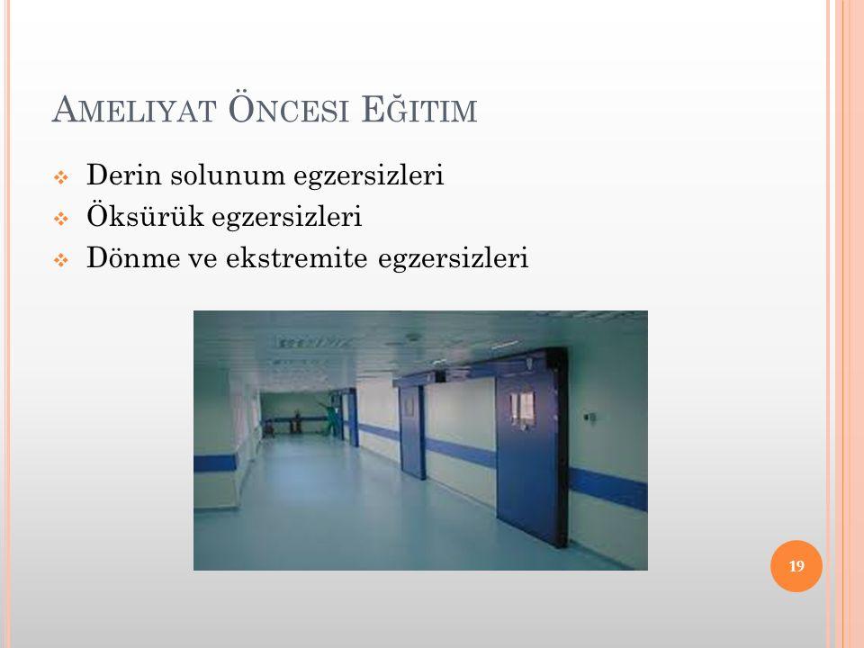 Ameliyat Öncesi Eğitim