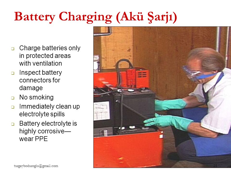Battery Charging (Akü Şarjı)