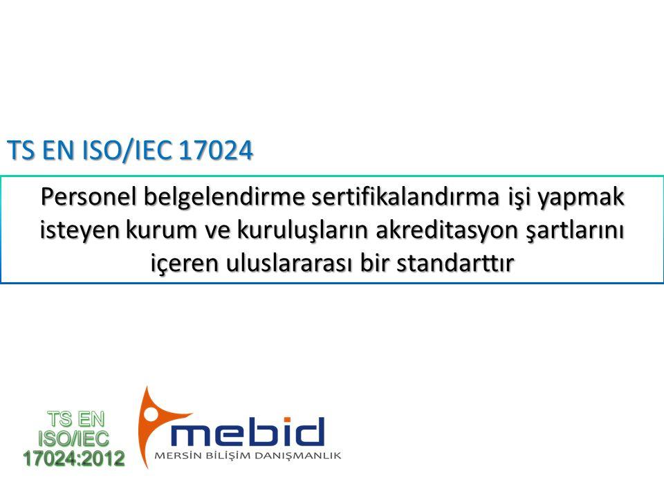 TS EN ISO/IEC 17024