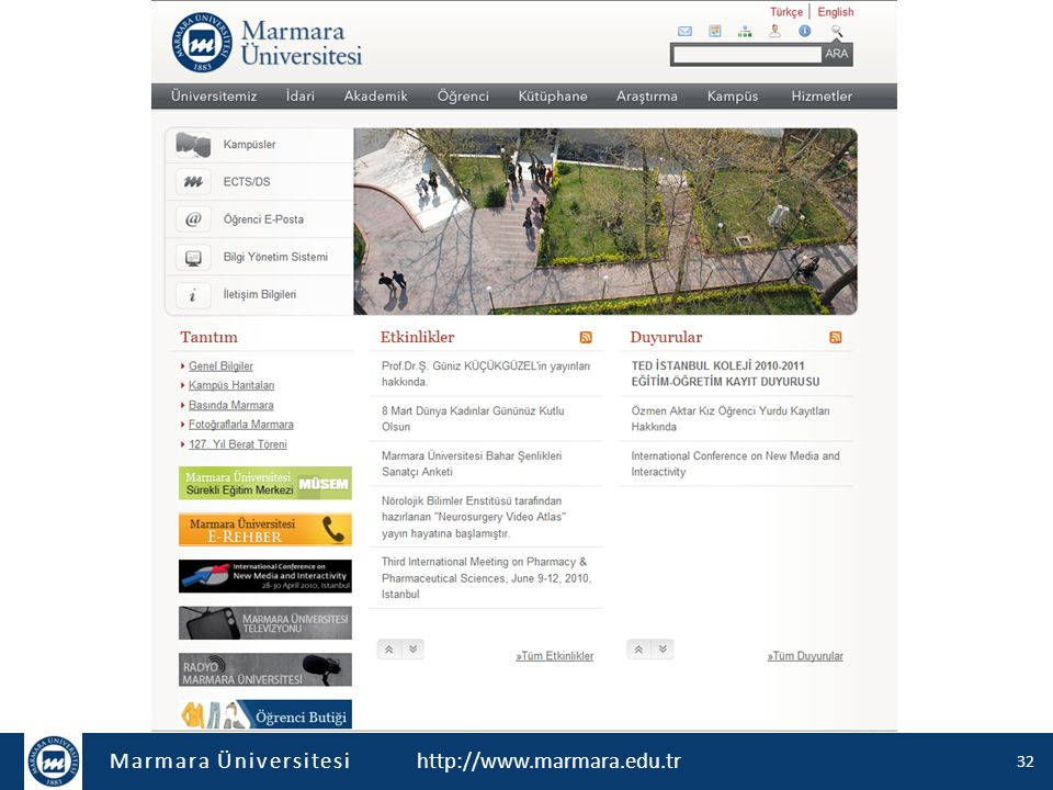 http://www.marmara.edu.tr