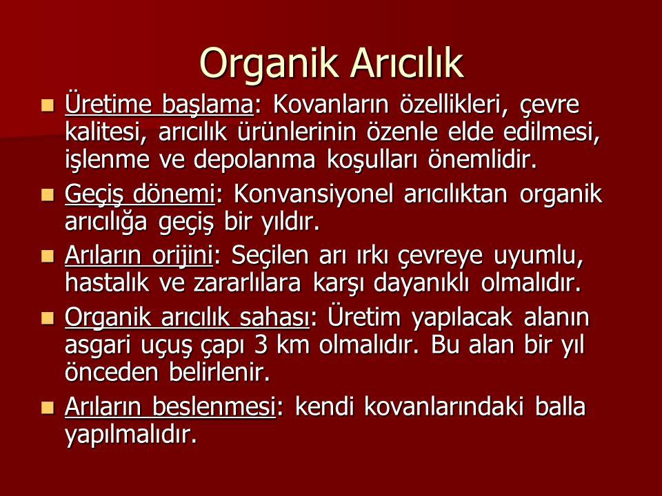 Organik Arıcılık
