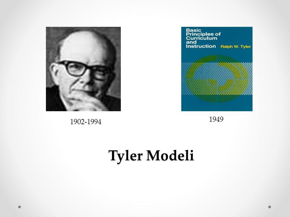 1949 1902-1994 Tyler Modeli