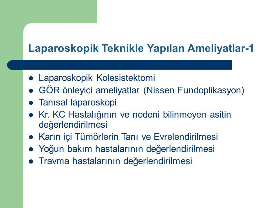 Laparoskopik Teknikle Yapılan Ameliyatlar-1