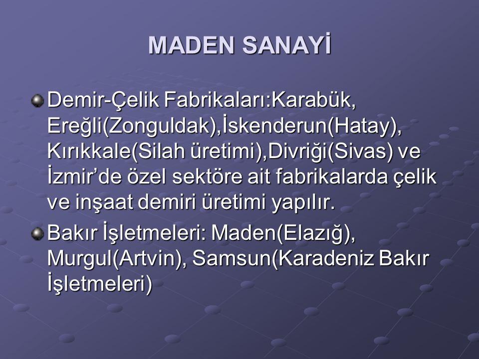 MADEN SANAYİ