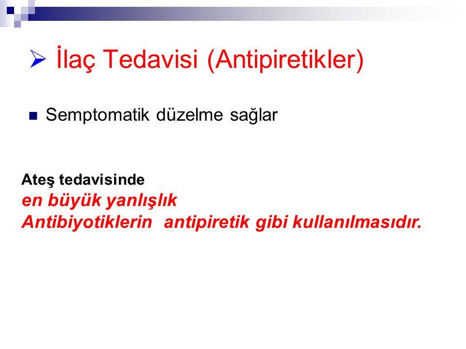 İlaç Tedavisi (Antipiretikler)