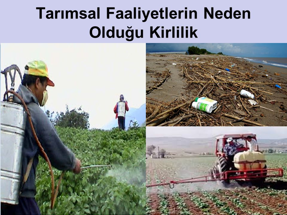 Tarımsal Faaliyetlerin Neden Olduğu Kirlilik
