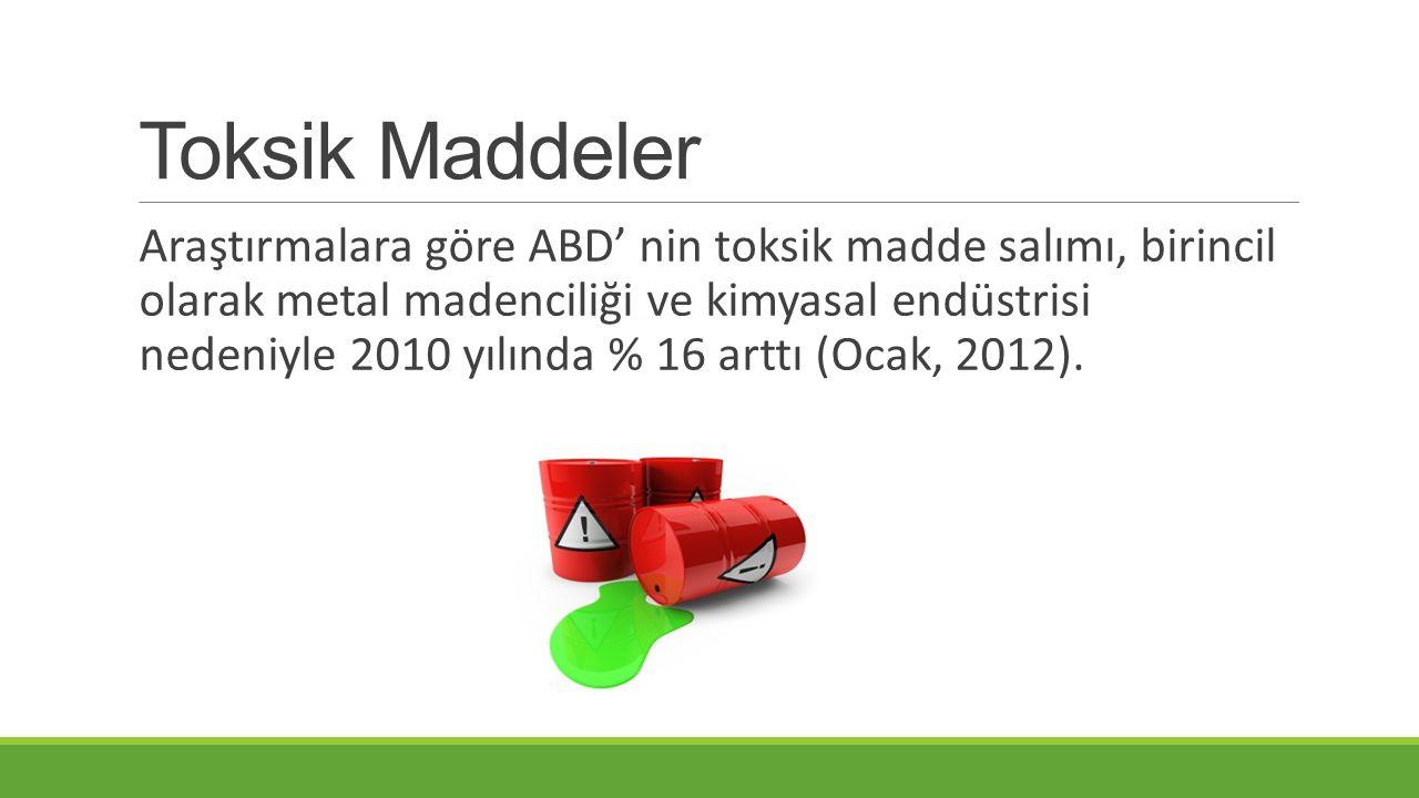 Toksik Maddeler