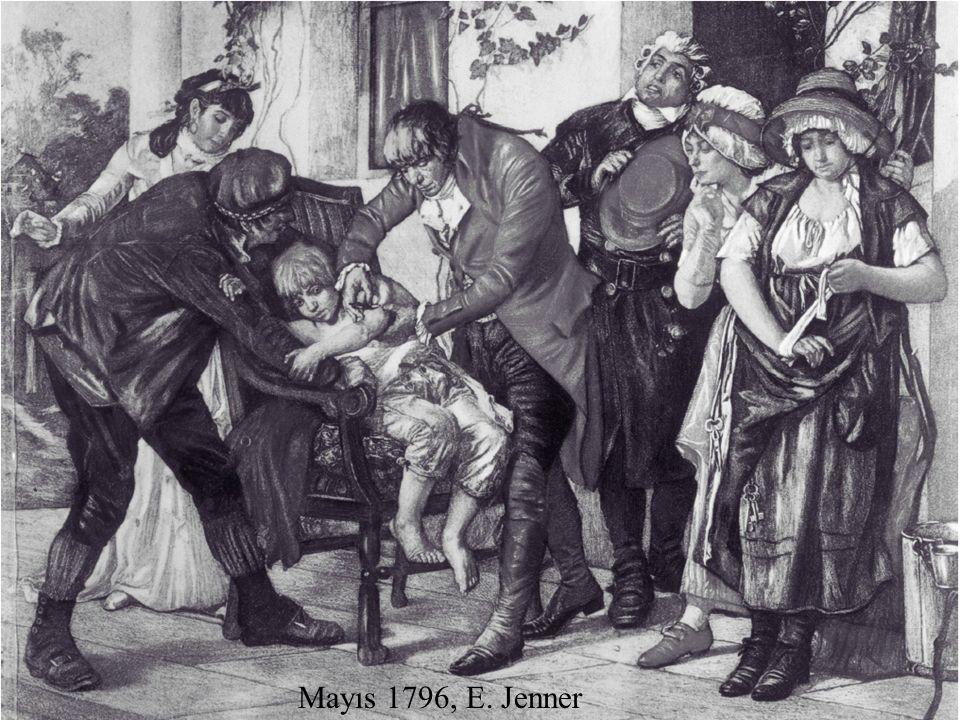 Mayıs 1796, E. Jenner