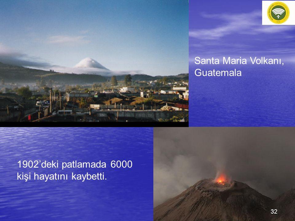 Santa Maria Volkanı, Guatemala