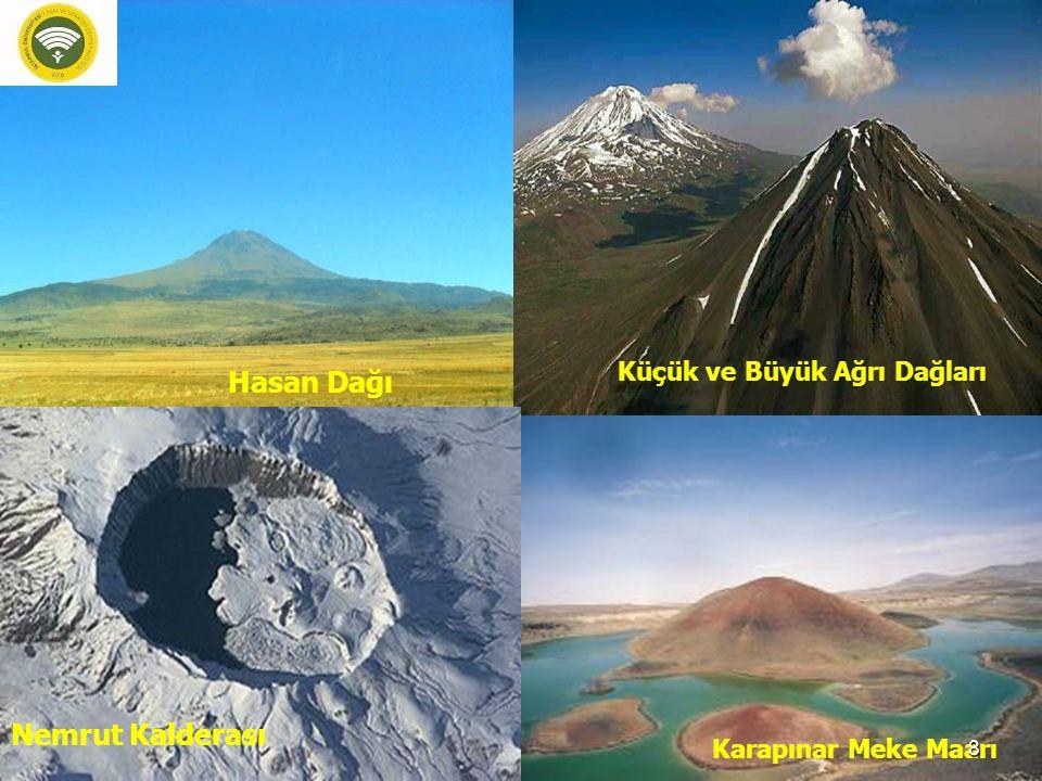 Hasan Dağı Nemrut Kalderası Küçük ve Büyük Ağrı Dağları