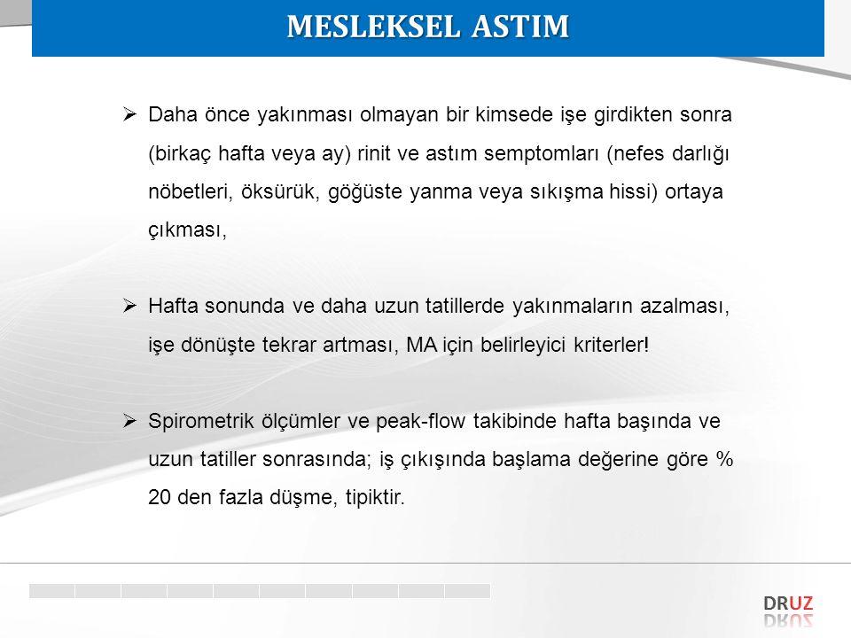 MESLEKSEL ASTIM