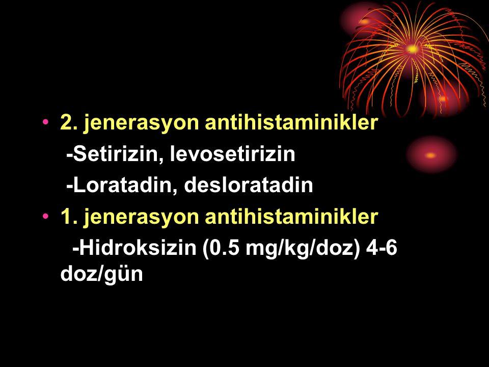 2. jenerasyon antihistaminikler