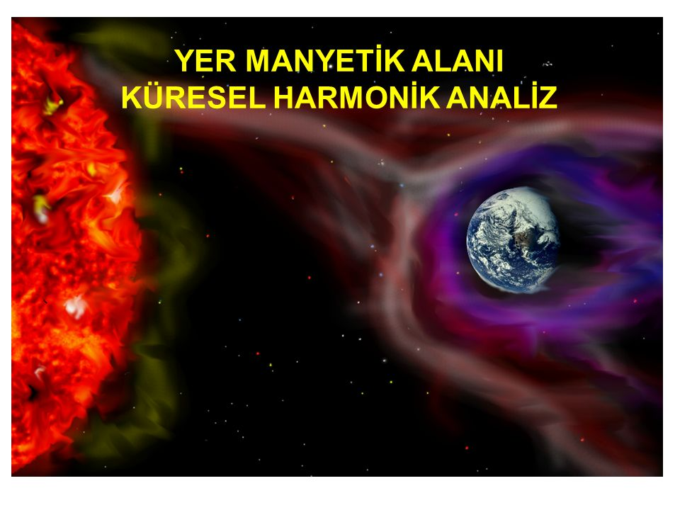 KÜRESEL HARMONİK ANALİZ