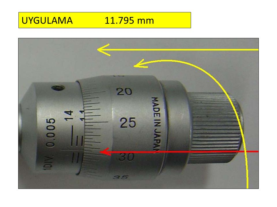 UYGULAMA 11.795 mm