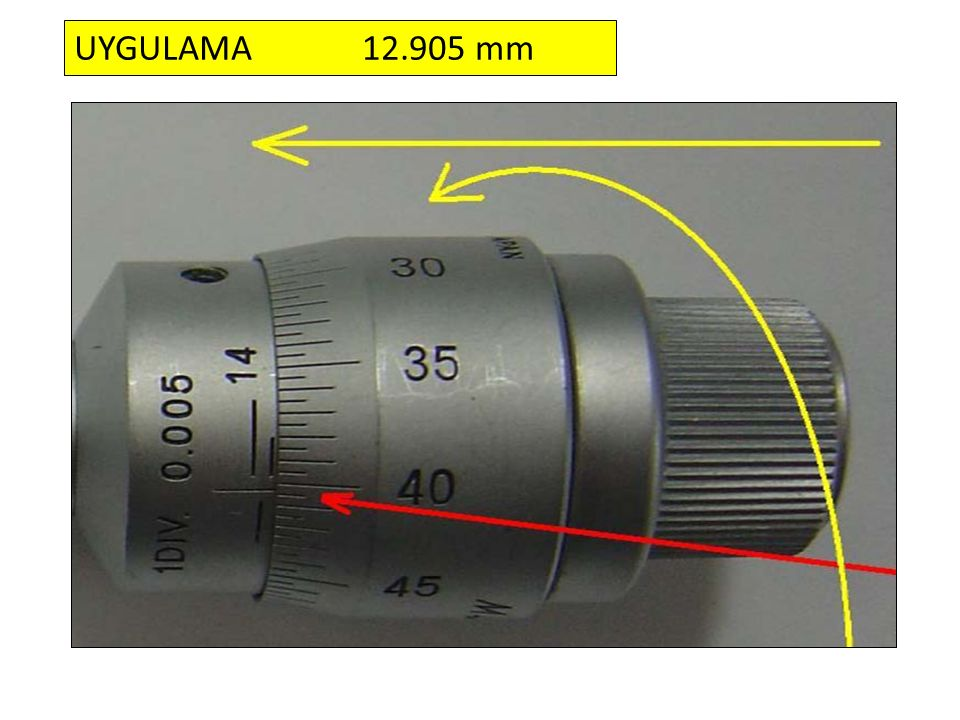 UYGULAMA 12.905 mm