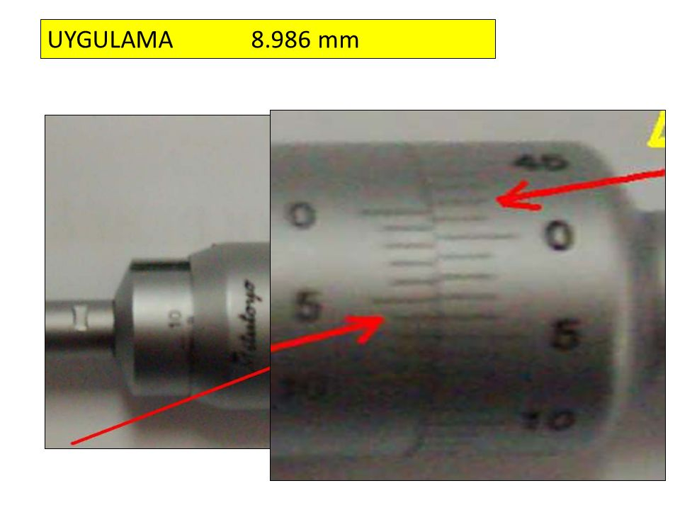 UYGULAMA 8.986 mm