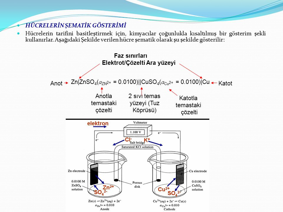 Elektrot/Çözelti Ara yüzeyi