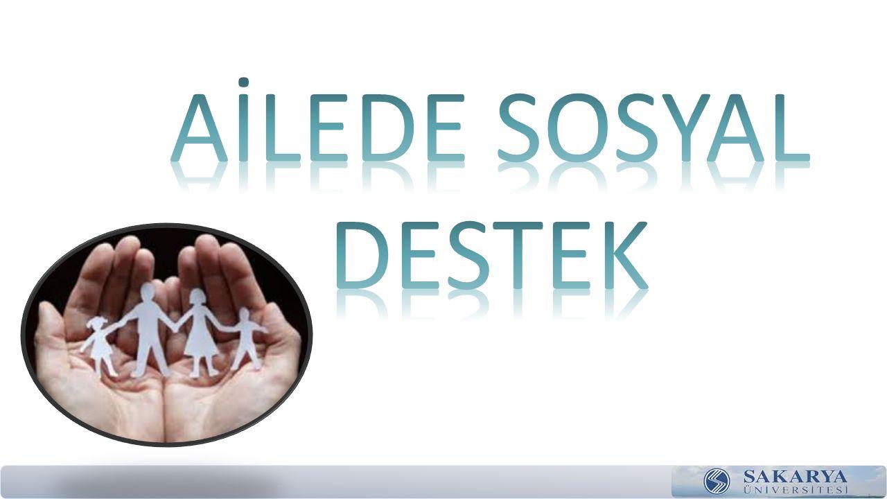 AİLEDE SOSYAL DESTEK