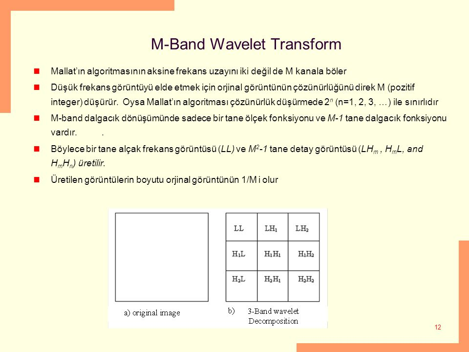 M-Band Wavelet Transform