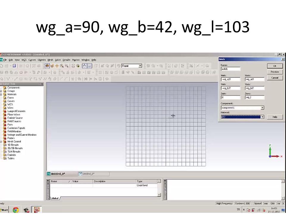 wg_a=90, wg_b=42, wg_l=103
