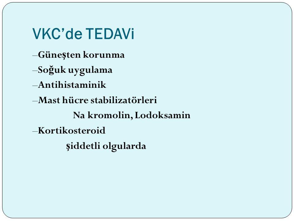 VKC'de TEDAVi