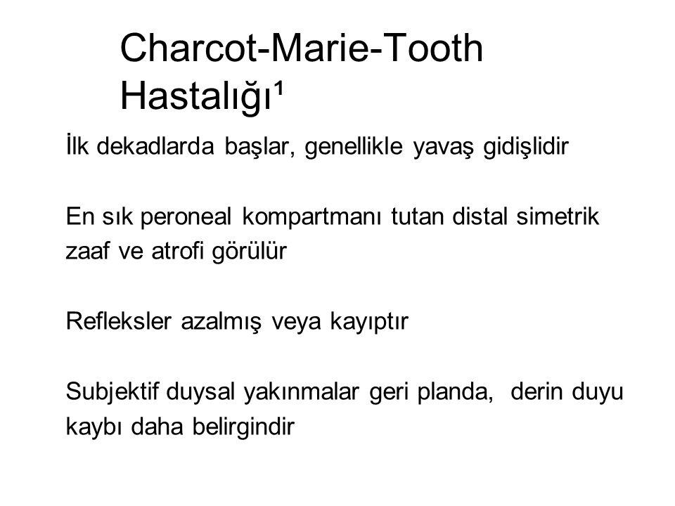 Charcot-Marie-Tooth Hastalığı¹