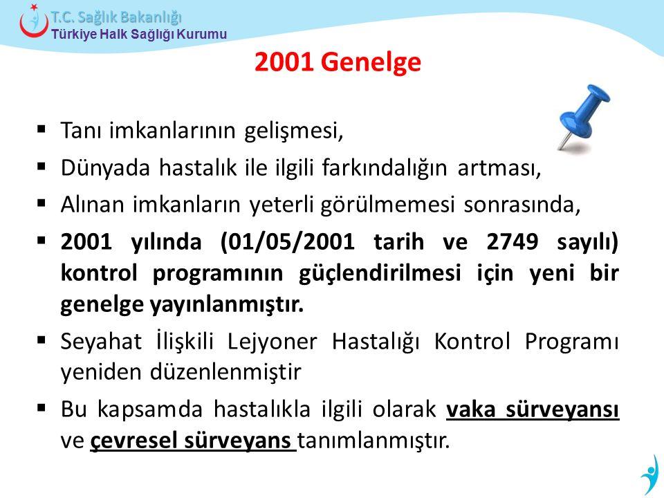 2001 Genelge Tanı imkanlarının gelişmesi,