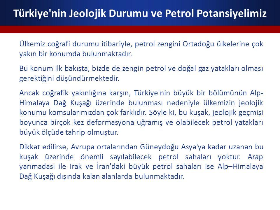 Türkiye nin Jeolojik Durumu ve Petrol Potansiyelimiz