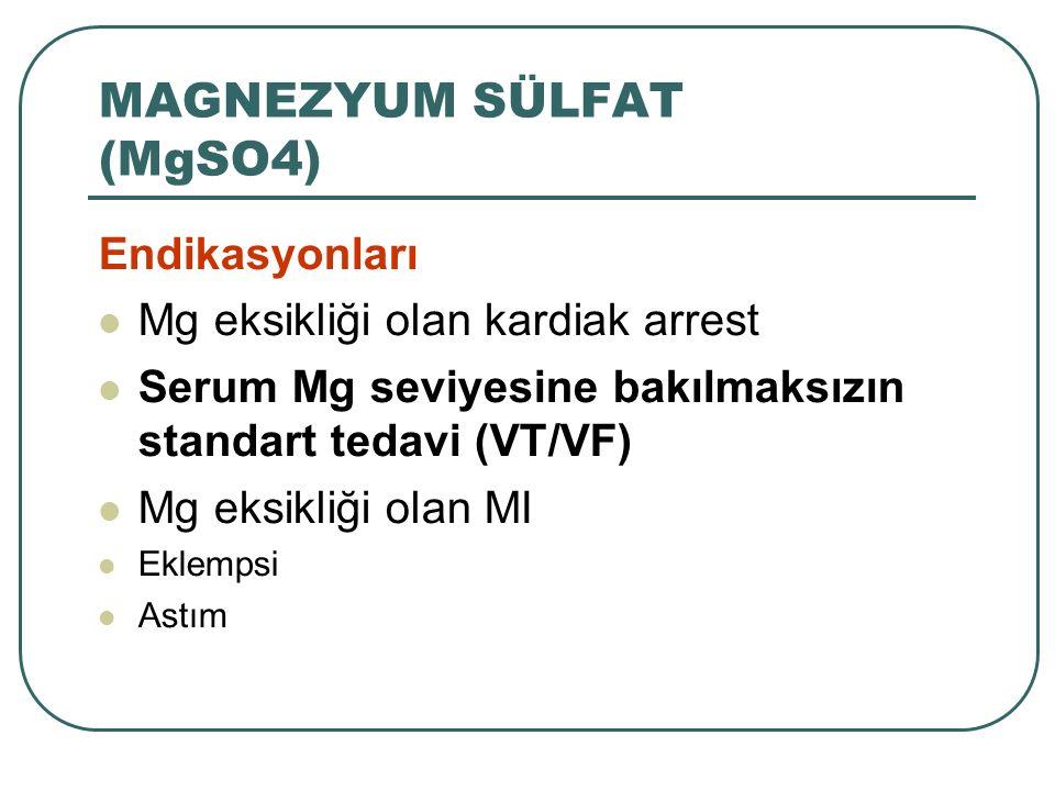 MAGNEZYUM SÜLFAT (MgSO4)