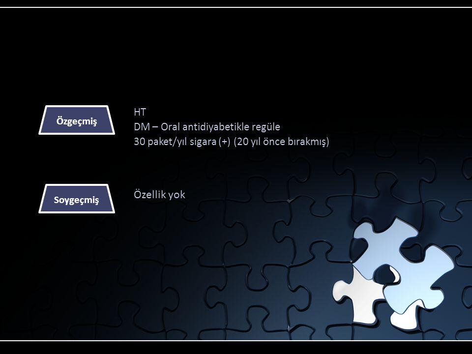 Özellik yok HT DM – Oral antidiyabetikle regüle
