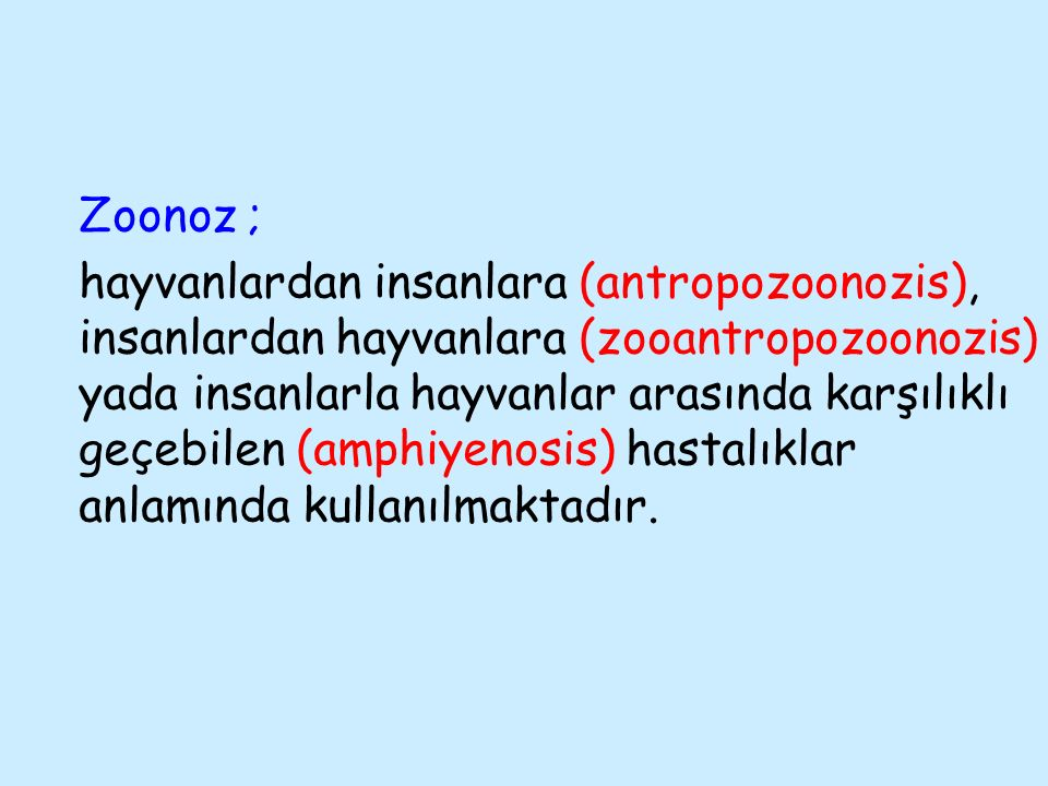 Zoonoz ;
