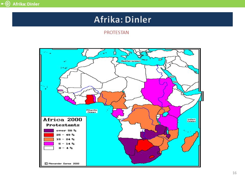 Afrika: Dinler Afrika: Dinler PROTESTAN 16