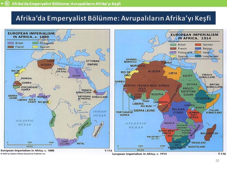 Afrika'da Emperyalist Bölünme: Avrupalıların Afrika'yı Keşfi