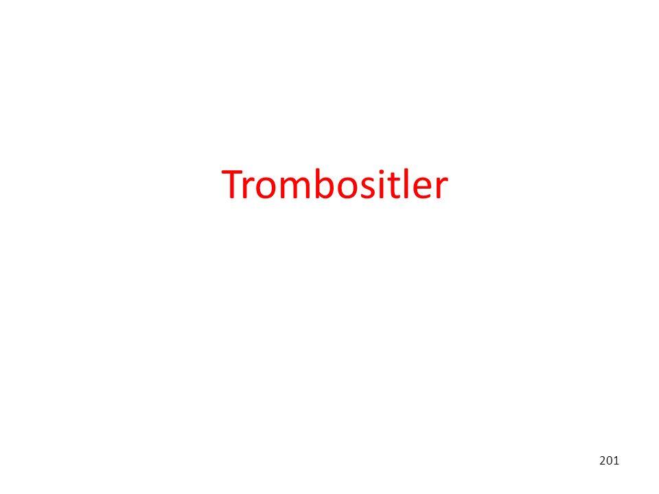 Trombositler