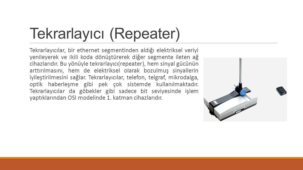 Tekrarlayıcı (Repeater)