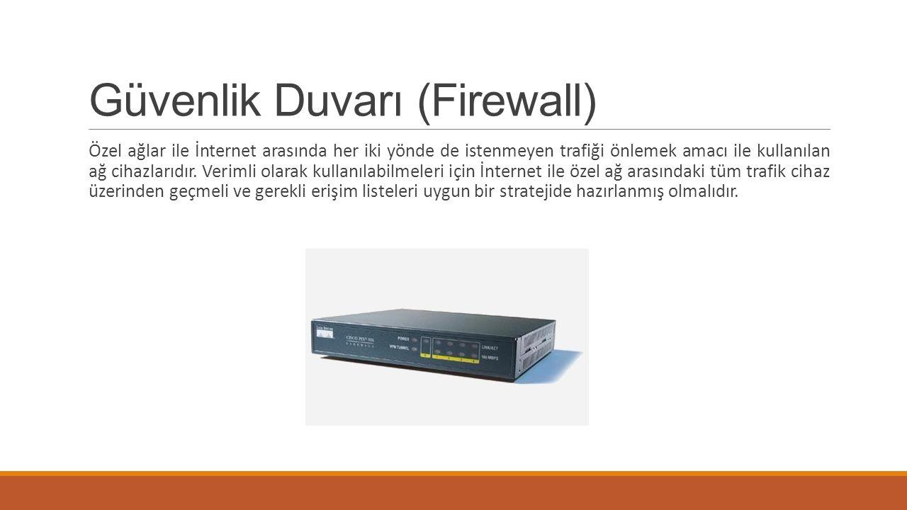 Güvenlik Duvarı (Firewall)