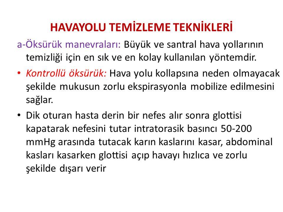 HAVAYOLU TEMİZLEME TEKNİKLERİ