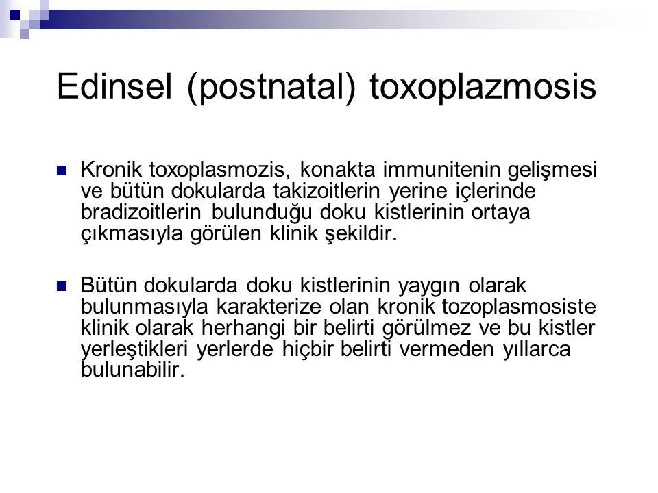 Edinsel (postnatal) toxoplazmosis