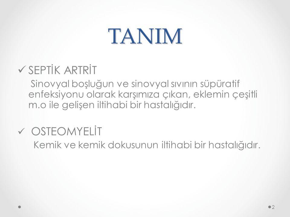 TANIM SEPTİK ARTRİT.
