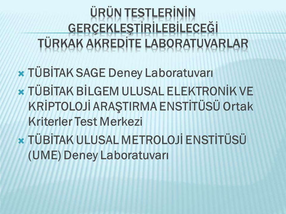 Ürün Testlerİnİn Gerçekleştİrİlebİleceğİ TÜRKAK Akredİte Laboratuvarlar