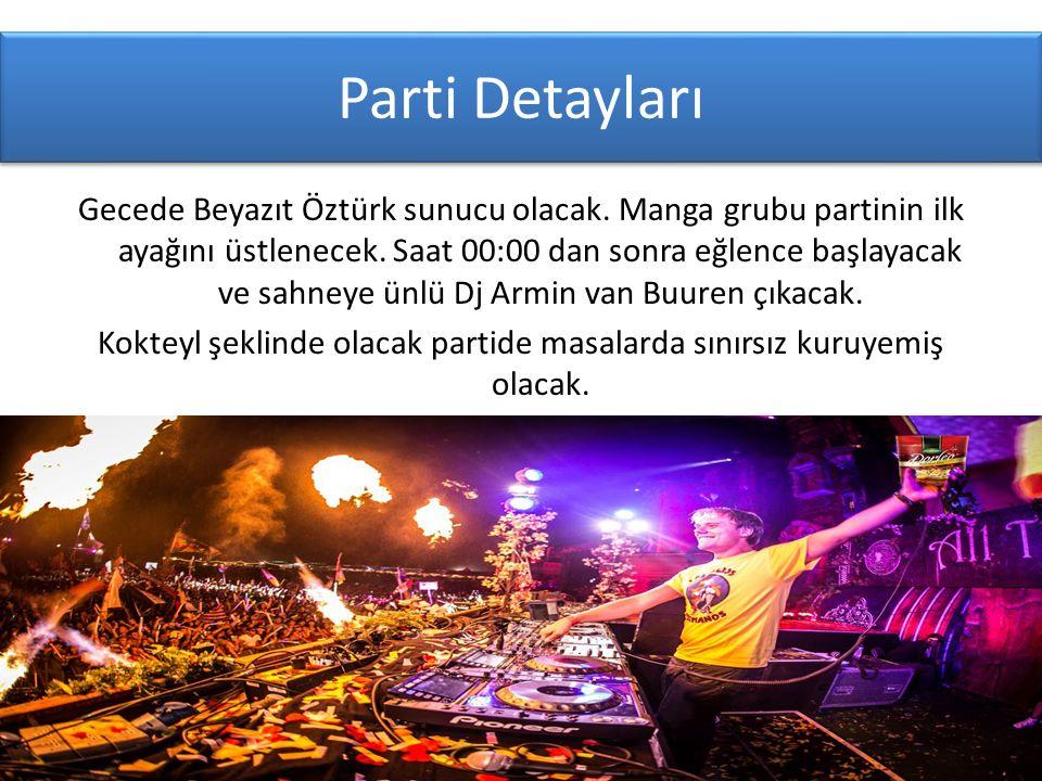 Parti Detayları