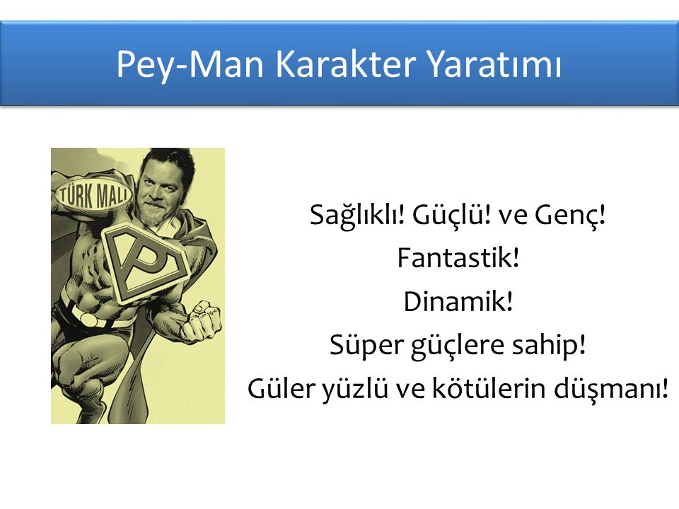 Pey-Man Karakter Yaratımı